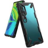 Cumpara ieftin Husa Xiaomi Mi Note 10Mi Note 10 Pro Ringke FusionX Negru