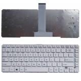 Tastatura laptop noua Toshiba L40-B WHITE (Without frame) US