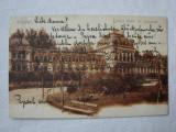 Carte postala circulata la Orsova in 1906, BUDAPESTA Lukacs Furdo, Ungaria, Printata
