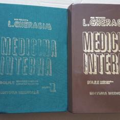 Medicina Interna L. Gherasim vol. 1 - 1995 vol. 2 -1996