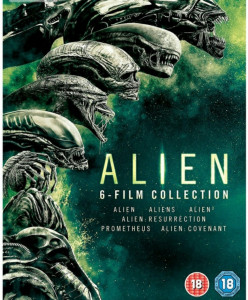 Filme Alien 1-6 DVD BoxSet Complete Collection