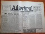 Adevarul 17 mai 1990-la 20 mai cu totii la vot,art. numai vocea maiestatii sale?