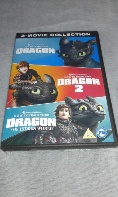 Cum sa iti dresezi dragonul - colectie 3 DVD dublate in limba romana foto