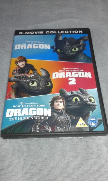 Cum sa iti dresezi dragonul - colectie 3 DVD dublate in limba romana