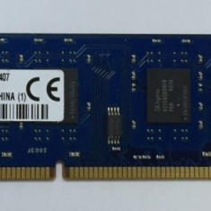 Memorie KINGSTON 4GB DDR3 1600Mhz, 1Rx8 , 9995402-092.a00g - Ram PC Desktop, DDR 3, 4 GB, 1600 mhz