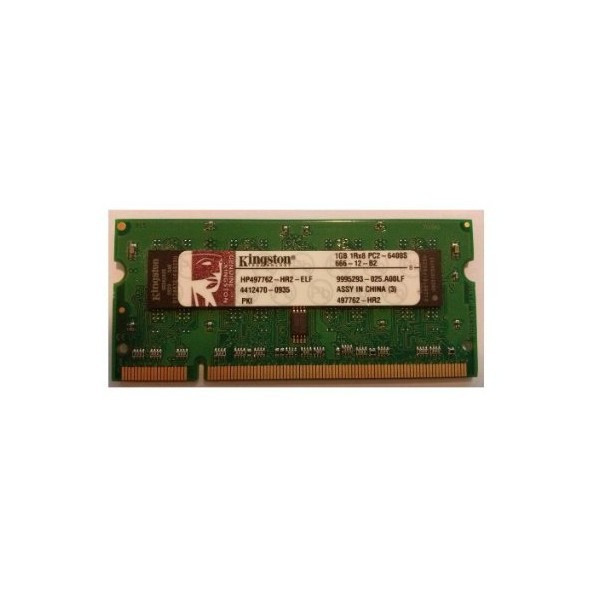 Memorie laptop 1 GB DDR2 KINGSTON 1 GB 1Rx8 PC2-6400S-666-12-B2 DDR2