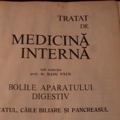 TRATAT DE MEDICINA INTERNA-PROF.DR. RADU PAUN-BOLILEAPARATULUI DIGESTIV-FICATUL-