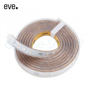 Kit Banda LED RGB Smart Eve Light Strip, 24W, 1800 lm, A++, 2m, Compatibil cu Apple Home Kit