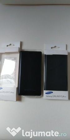 Vand Husa flip Samsung GalaxyS5 mini,activa,originala,nou nouta