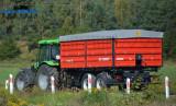 Remorca tandem Metal-Fach T755
