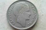 MONEDA 100 FRANCI 1950-ALGERIA, Africa, Cupru-Nichel
