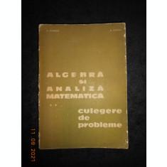 D. FLONDOR - ALGEBRA SI ANALIZA MATEMATICA. CULEGERE DE PROBLEME volumul 2