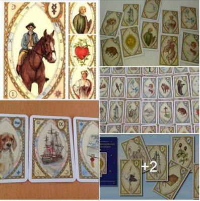 Carti tarot Astro Lenormand +cadou cartea in limba romana+ un set de rune foto