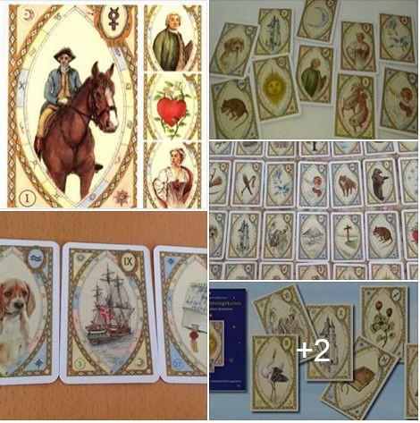 Carti tarot Astro Lenormand +cadou cartea in limba romana+ un set de rune