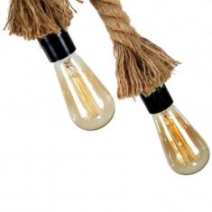 Lampa retro tip franghie, bej, Gonga