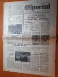 Sportul 13 mai 1981-articol echipa politehnica iasi, meciul romania-ungaria