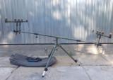 Rod pod EASTSHARK pentru 3 sau 4 lansete Tripod 360 grade model 2017