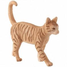 Cumpara ieftin Figurina Pisica tarcata aurie