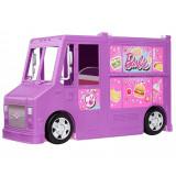 Cumpara ieftin Masina Barbie Rulota cu mancare si accesorii, Mattel