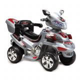 Motocicleta electrica cu telecomanda Buggy Grey