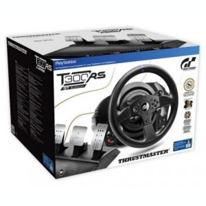 Volan Thrustmaster T300 RS cu set 3 pedale T3PA, GT Edition PC/PS4/PS3