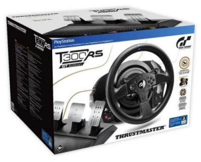 Volan Thrustmaster T300 RS cu set 3 pedale T3PA, GT Edition PC/PS4/PS3 foto