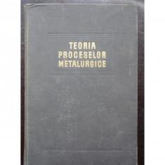 TEORIA PROCESELOR METALURGICE - OPREA FLOREA