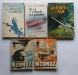 Lot Carti Aviatie - 5 Carti (4 titluri) despre Avioane si Aviatori