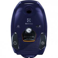 Aspirator cu sac ESP72DB, 550 W, filtru Hygiene, 3.5 l, albastru, Electrolux