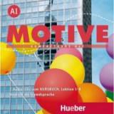 Motive A1 Audio-CDs zum Kursbuch Lektion 1–8 Kompaktkurs DaF - Wilfried Krenn, Herbert Puchta