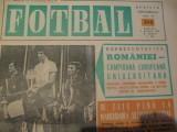Revista Fotbal nr. 323/2 august 1972 - Romania Campioana Europeana Universitara