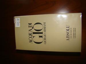 Parfum Armani Acqua di Gio Absolu 125 ml - AUTENTIC
