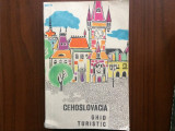cehoslovacia ghid turistic editura ucfs 1967 RSR harta turism calatorie hobby