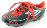 Incaltaminte de fotbal cu crampoane pentru baieti SCORE SCR1 N, Negru