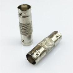 Conector adaptor prelungitor cablu BNC MAMA la BNC MAMA