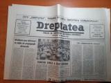 """ziarul dreptatea 25 aprilie 1990-art """"a venit momentul sa gandim cu capul nostr"""""""