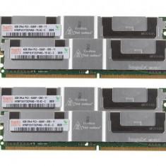 Memorie Ram 4GB Hynix HYMP351F72AMP4N3-Y5 AC-A PC2-5300F DDR2-667 FB-DIMM Server
