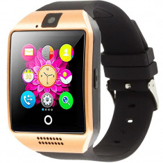 Smartwatch cu telefon iUni Q18, Camera, BT, 1.5 inch, Auriu