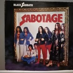 Black Sabbath – Sabotage (1980/Castle/RFG) - Vinil/Rar/Analog/Impecabil (NM+)