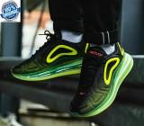 Originali 100% Nike Air Max 720 Black Bright Crimson Volt nr 42