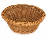 Cos rotund pentru baghete paine rezistent la apa, 23 x 8 cm culoare cafea, 014083