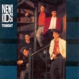 "New Kids on the Block - Tonight (1990, CBS) Disc vinil single 7"""