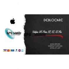 Deblocare Oficiala Apple iPhone Vodafone UK - iPhone XR, XS, XS Max IMEI Curat