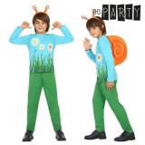 Costum Deghizare pentru Copii Melc (4 Pcs) - Mărime 3-4 Ani