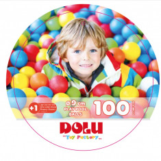 Set 100 bile colorate - 9 cm PlayLearn Toys
