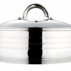 Cratita inox+capac sticla 10l Gourmet line Handy KitchenServ