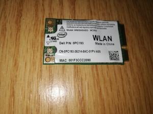 Modul wireless Intel WM3945ABG Dell Latitude D630