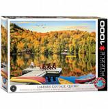 Cumpara ieftin Puzzle Eurographics - Lakeside Cottage Quebec, 1000 piese