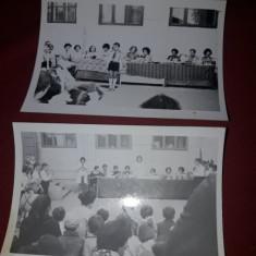 fotografii vechi PIONIERI,LOT 6 FOTOGRAFII PIONIERI 3 mari 3 mici,T.GRATUIT
