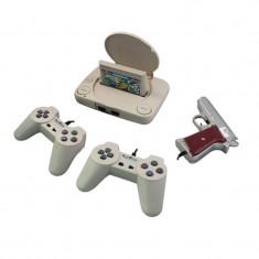 Consola pentru jocuri pe televizor, 2 x controller